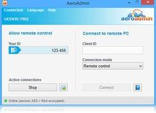 AeroAdmin скриншот