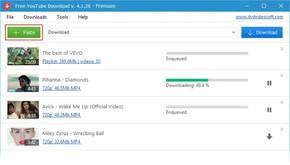 Free YouTube Download скриншот