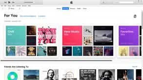 iTunes скриншот