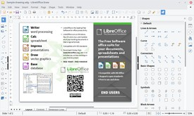 LibreOffice скриншот