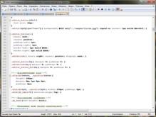 Notepad++ скриншот