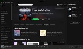 Spotify скриншот