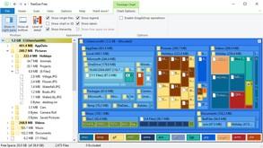 TreeSize Free скриншот